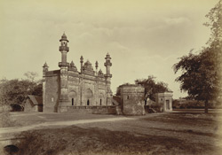 Native Infantry Line Musjid, [Rampur]